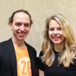 Eventorganisation - Carina & Thomas bilden das Orga-Team